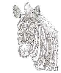 april showers bring u2026adult coloring zebra