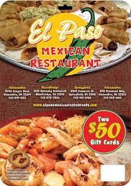 food gift cards gift cards el paso mexican restaurant