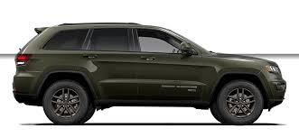 green jeep grand cherokee 2016 jeep grand cherokee 75th anniversary edition