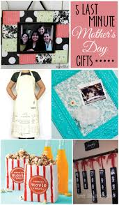 Cute Homemade Mothers Day Gifts by 5 Last Minute Mother U0027s Day Gifts On Lilluna Com Cute And