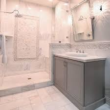 Subway Tiles In Bathroom Perfect Bathrooms With Marble Tile 80 In Home Design Ideas Cheap