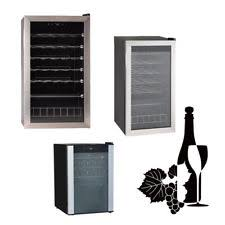 Home Bar Cabinet With Refrigerator - free standing wine fridges and cellars ebay