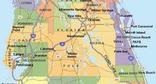 Florida Map Of Cities And Counties Florida Map Counties