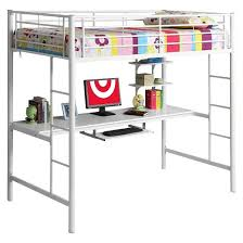 kids workstation bunk bed twin metal saracina home target