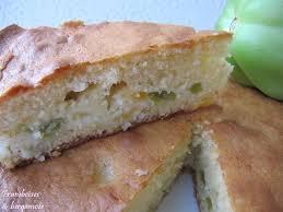 cuisiner les tomates vertes framboises bergamote gâteau moelleux aux tomates vertes et aux