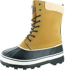 revenant men u0027s waterproof sherpa snow duck boots