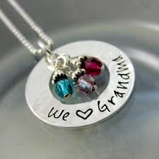 grandchildren necklace we necklace grandmother jewelry personalized