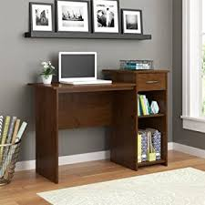 Furniture Of America Computer Desk Canyon Brown Amazon Com Mainstays Student Desk White Finish Home Office