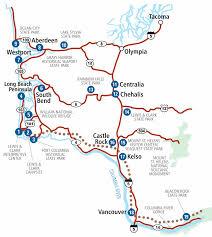 Map Of Long Beach Long Beach Peninsula U0026 Southwest Washington Lewis U0026 Clark Trail