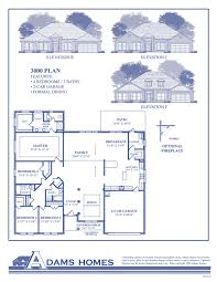 house plan homes 3000 floor plan homes