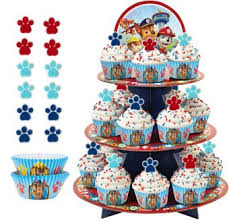 deluxe paw patrol cupcake kit 24 party