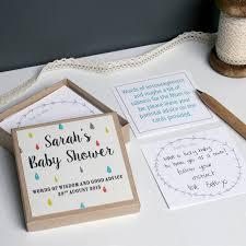 baby shower words of wisdom poem baby shower decoration