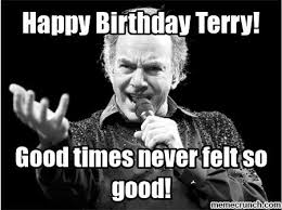 Terry Meme - birthday terry