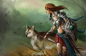 amazon warrior girl amazon warrior field fantasy 1148 wallpapers and free stock