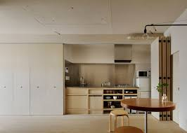 Tokyo Apartment By Minorpoet Features Kitchen Hidden Behind - Japanese apartment interior design