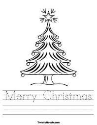preschool christmas worksheets free free worksheets library