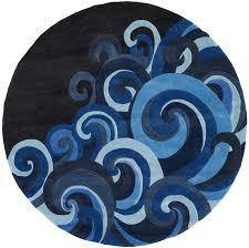 hipster tidal wave round rug rosenberryrooms com