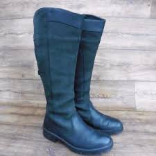 s dubarry boots uk size uk 5 5 to 6 dubarry clare womens country boots black leather