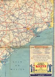 Texas Highway Map Old Highway Maps Of Texas
