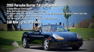 2000 porsche boxster convertible 2000 porsche boxster convertible 7500 text or call paul 714