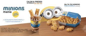 cuisine mcdo jouet top 5 produits minions à dévorer chez mcdonald s