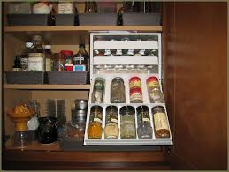 Kitchen Cabinet Pull Down Shelves Kitchen Countertop Spice Rack Pull Down Spice Rack Under