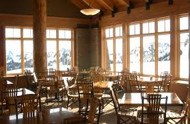 Roosevelt Lodge Dining Room by Campbell Basin Lodge Visit Rainier