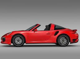 porsche turbo 911 3d porsche 911 turbo s targa 991 2015 cgtrader