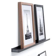amazon com wallniture modern floating shelf picture display