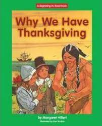 why we thanksgiving by margaret hillert scholastic