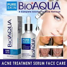 Serum Acne bioaqua acne serum care removal of acne scar 30ml shopee