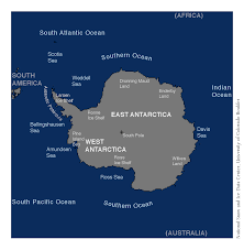 Antarctica World Map by Map Of Antarctica Arctic Sea Ice News And Analysis