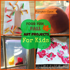 fun fall art projects for kids pocketful of motherhood