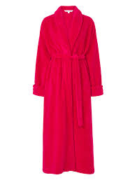 veste de chambre femme waffle fleece bed jacket or dressing gown robe