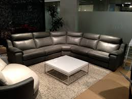 L Leather Sofa Living Room Interior Design Fancy Grey L Shape