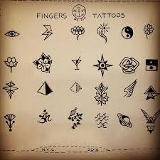 finger ideas pinteres