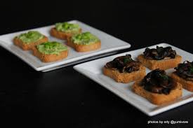 canape toast canapés yumivore