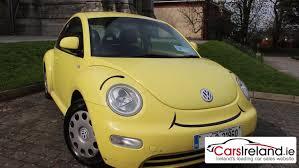 volkswagen buggy yellow volkswagen beetle 1999 2010 review carsireland ie youtube