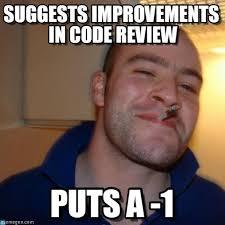 Code Meme - suggests improvements in code review on memegen