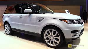 land rover suv price 2017 range rover sport hse diesel exterior and interior