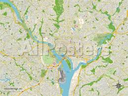 map of washington political map of washington dc prints at allposters com