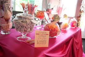 wedding tables wedding candy buffet bags wedding candy table for
