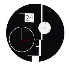 Design Clock by Bauhaus Inspired Clock Scottdavy Me