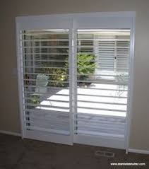 Plantation Shutters On Sliding Patio Doors Shutters Patio Doors Shutters For Patio Doors Drapery
