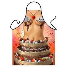 buy new women beauty birthday cake women apron good