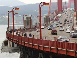 golden gate bridge s parking lots to be closed thanksgiving