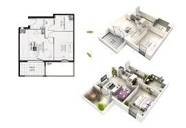 3d plans photo realistic 3d floor plan arch student com