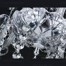 Modern Crystal Chandeliers 18 Light Fabric Shade Twig Modern Crystal Chandeliers