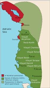 Ottoman Empire Facts Atlas Albania History Facts Map