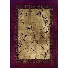 Lowes Area Rug Sale Shop Allen Roth Tinsley Indoor Nature Area Rug Common 8 X